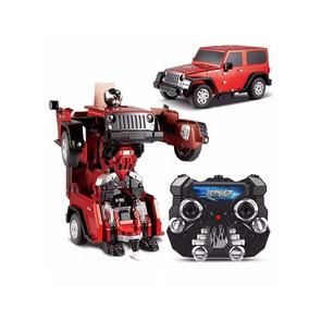 Auto Radio Control Robot Transformer Troopers Crazy - Giro