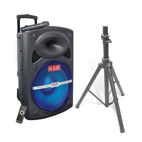 Bafle Kaiser 15 Ksa-9015bt Bluetooth Microfono Inalambrico