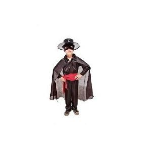 Disfraz Del Zorro Talle 3 Original De Candela Disfraces