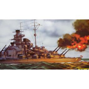 1/400 Modelismo A Escala Barco Heller Tirpitz 61cms $1400