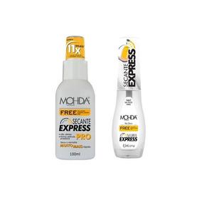 Kit 2 Secante Express Free Mohda Não Oleoso - 8,5 E 100 Ml.