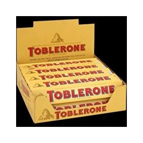 Chocolate Toblerone Mayoreo Caja Con 20 Barras