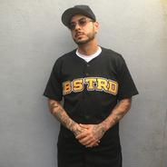 Jersey Baseball -  Bstrd Black Aniversario