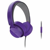 Auriculares Philips Shibuya Con Micrófono Apto Movil Violeta
