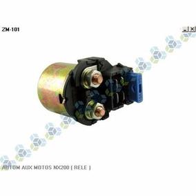 Automatico Auxiliar Partida 12v Honda Nx 200 - Rele