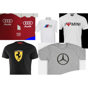 Playera Personalizada Coches Lambo Ferrari Mercedes Bmw