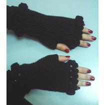 Guantes Tejidos Al Crochet