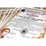Diploma En Pergamino 6to 5 Año, Preescolar