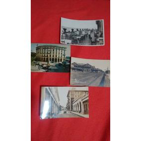 Lote De 4 Postales Antiguas De Tampico.