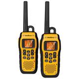 Rádio Comunicador Intelbras Twin Water Proof Amarelo
