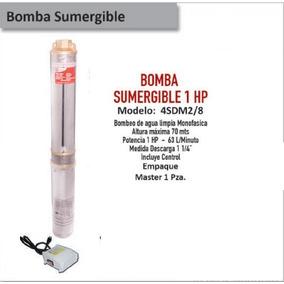 Bomba Sumergible 1 Hp 70 Mts Max 1-1/4 Descarga
