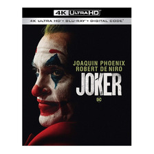 Joker 4k Ultra Hd + Blu-ray Nuevo Original Importado