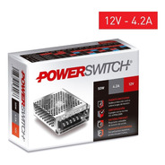 Fuente Switching Metalica Interior 50w 4.2a 12v - S-50-12