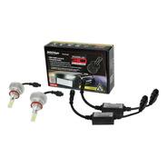 Kit Lampada Led Powerled Shocklight H11 H9 6000k 9000lm 3d