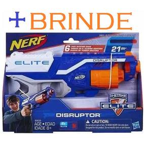 Lançador Dardos Nerf Elite Disruptor - Hasbro 21 Metros