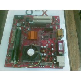 Tarjeta Madre Pentium 3 Con Procesador Fancooler Y Memorias