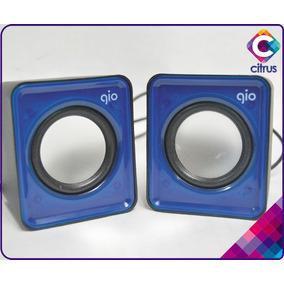 Cornetas Para Pc Altavoces Multimedia 2.0 Gio C420
