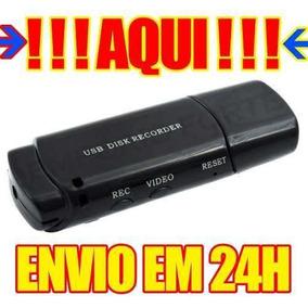 Micro Cameras De Filmar Camera Veicular Espia Seguranca Aa4