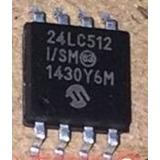 Ci 24lc512 24c512 Memoria Eeprom Smd Sop8 Virgem Original