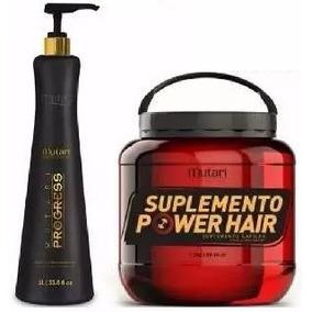 Progressiva Mutari Progress + Suplemento Power Hair 1.700kg