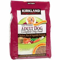 Alimento Perro Kirkland Adult Pollo Arroz Y Vegetales 18 Kg