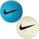 17f90896d5 Kit 2 Bolas Nike Futebol Campo Original Nf Super Promoção!