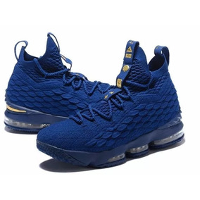 Tênis Nike Lebron James 15 Azul Novo Original Lançamento