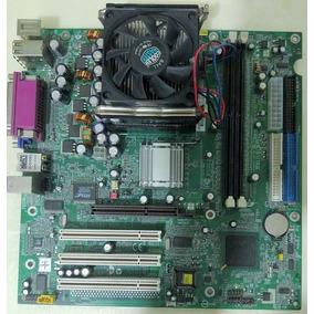 Tarjeta Madre Hp Ms-6541 Socket 478 Ddr Procesador Incluido