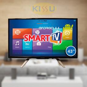 Tv Led Diggio 43 Smart Android Hd Wifi Antena Soporte Pared