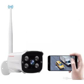 Cámara Ip Exterior Hd Wifi Inalámbrica Vigilancia X Cel O Pc