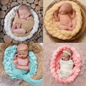 Tela Crochet Para Fotografia Recien Nacido Newborn Adorno