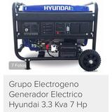 Generador Hyundai 3,3 Kva 7 Hp