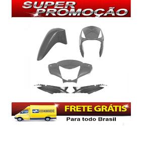 Honda Biz 125 Prata 2006 Kit Carenagem Plastico Completo