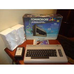Computador Antigo Commodore 64 Americano Perfeito