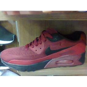 b1c4a54a63f Tenis Nike Air Max 90 Vinho E Preto Nº38 Ao 43 Original!