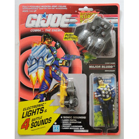 Gi Joe Super Sonic Fighters Cobra Major Bludd 1991 Raro