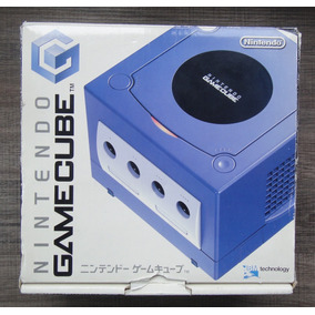 Game Cube Roxo Completo Na Caixa Japones Ref0069
