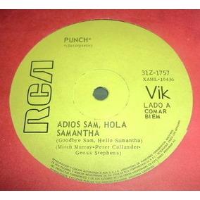 Punch Adios Sam Hola Samantha / Lola Vinilo Simple Arg