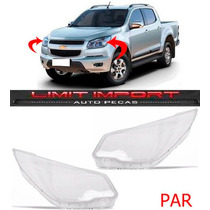 Par Lente Farol Chevrolet S10 Ano 2012 2013 2014 2015