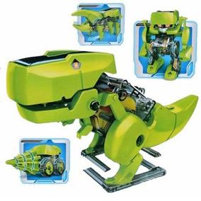 Dinossauro 4 Em 1 Brinquedo Solar Frente Grátis