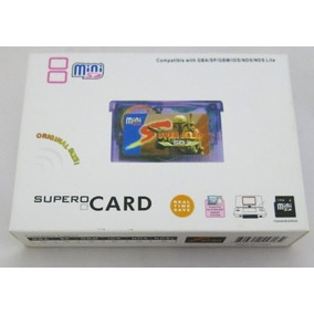 Supercard Super Card Mini Sd Gba Sp Micro Nds Lite Ez Flash