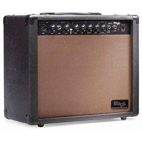 Stagg 40 Aa R Eu - Amplificador Acústica Reverb 40 W