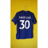 David Luiz Chelsea Gorro - Camisas de Times Ingleses de Futebol no ... 5dd4ce45a4253