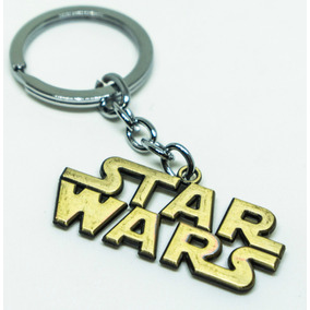 Chaveiro Star Wars Guerra Nas Estrelas Coleção Metal Dourado