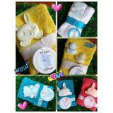 Souvenir Spa Toalla Y Jabon Nacimiento Baby Shower Cumpleaño