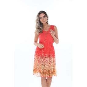 Vestido Festa Moda Evangelica Pedraria Estampado Moda 2018