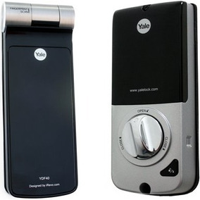 Fechadura Digital Yale Ydf 40 Biometria E Senha Black Friday