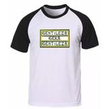 Camisa Camiseta Raglan Gentileza Gera Gentileza Personalizad