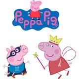 Peppa Pig, George Pig Kit Displays Chão E Elipse