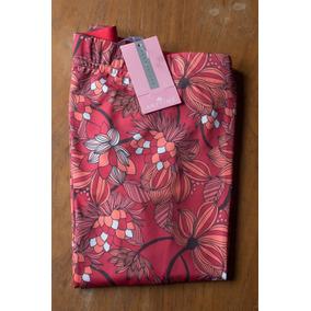 Hermosa Calza Larga De Mujer De Microfibra Flores - Anytime